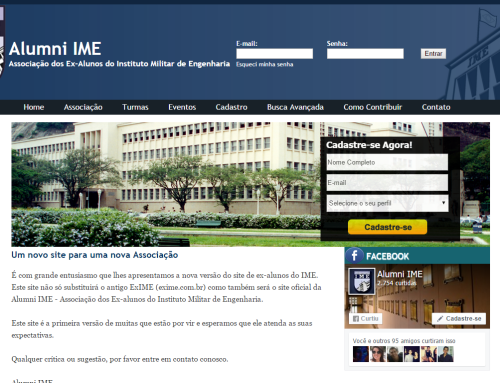 Website Alumni IME
