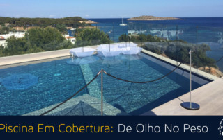 piscina em cobertura