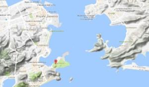 mapa urca