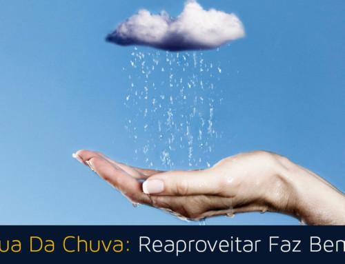 Água Da Chuva: Reaproveitar Faz Bem!